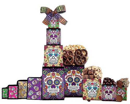 Rocky Mountain Chocolate Factory Halloween Gift Tower
