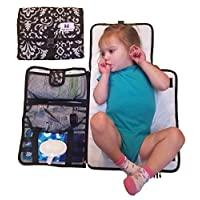 Luxury All in One Portable / Travel Diaper Changing Pad / Mat