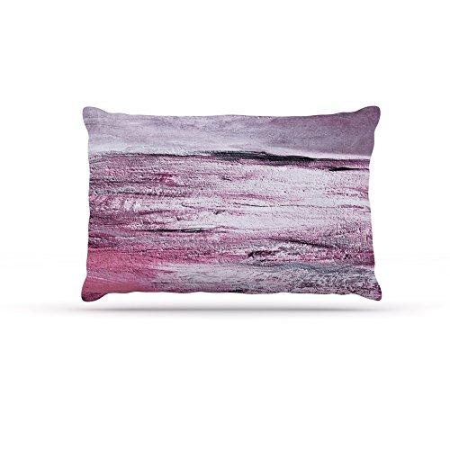 Kess InHouse Iris Lehnhardt Sea  Fleece Dog Bed, 50 by 60 , Pink