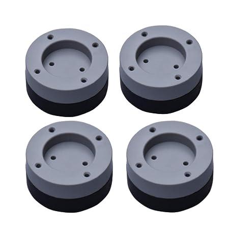 SUPVOX 4 piezas lavadora secadora antivibración almohadillas ...