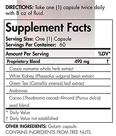4life Carb BLX Weight Management Formula With Antioxident Properties 60 capsules each (pack of 2)