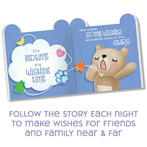My Wishing Bear Book and Plush Set – DIY Teddy Bear Stuffed Animal Builds Kindness, Empathy and Communication – Create an Endearing Bedtime Routine for Girls and Boys Age 3 Years and Up