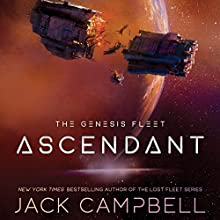 Ascendant: The Genesis Fleet, Book 2 Audiobook by Jack Campbell Narrated by Christian Rummel