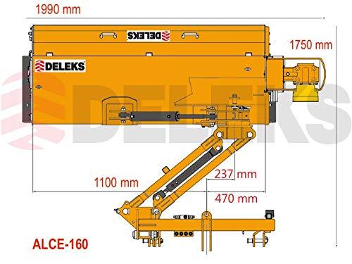 deleks Trincia argini a palos Serie pesado para tractores con ...
