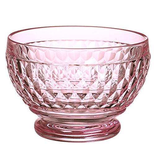 Villeroy & Boch Boston Glass Bowl Set of 4, Rose (Roses Candy Dish)
