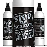 Emmy's Best Stop The Scratch Cat Deterrent Spray for Kittens and Cats - Non-Toxic, Safe for Plants, Furniture, Floors and More with Rosemary Oil and Lemongrass