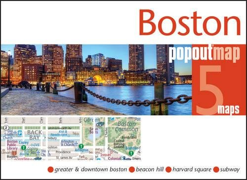 Boston PopOut Map (PopOut - Boston Ma Outlets