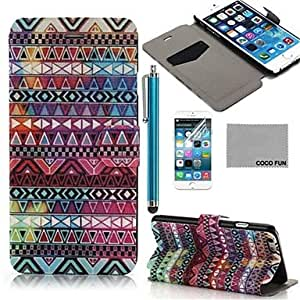 YULIN iPhone 6 compatible Graphic/Mixed Color/Special Design/Novelty Case with Kickstand/Full Body Cases/Shatter-Resistant Case/Wallet Case