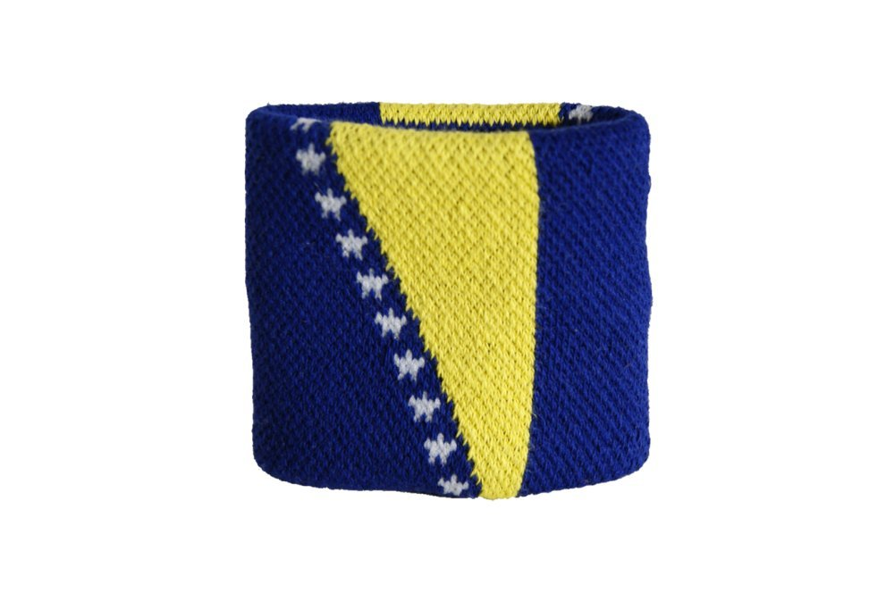 Flaggenfritze/® Schwei/ßband Bosnien-Herzegowina