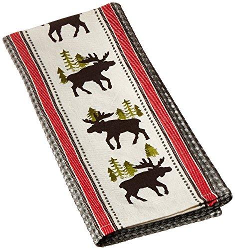 Printed Tea Towel - Kay Dee Designs Simple Living Moose Printed Woven Tea Towel