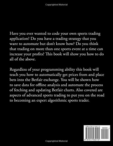 Buy Programming for Betfair: A Guide to Creating Sports