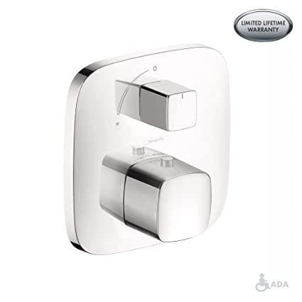 Genial Hansgrohe 15771401 PuraVida Thermostatic Trim With Volume Control And  Diverter, White/Chrome   Tub Filler Faucets   Amazon.com