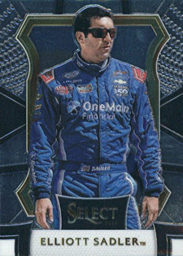 2017 Panini Select  89 Elliott Sadler Onemain Financial Jr Motorsports Chevrolet Racing Card