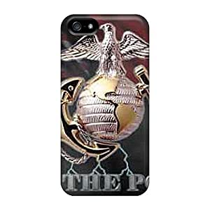 Anti-scratch Protective Marine Power For Iphone 5/5S Phone Case Cover