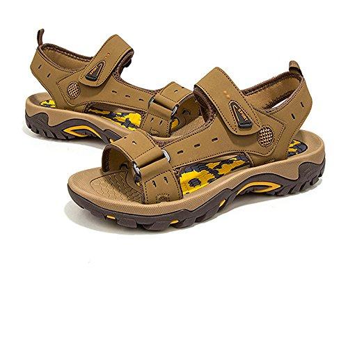 da Sandali Sports Neri pantofole Scarpe CM 39 27 Marrone Colore spiaggia Shoe Dimensione Nero 24 Beach Outdoor Da 1 Traspiranti 0 3 Uomo Sandali 0 Wagsiyi EU T8wzXX