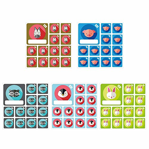 Reusable Animal Team Icon Set 5x for Agile Scrum Kanban Projects … by PATboard.com
