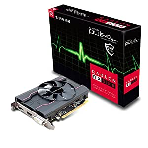 Sapphire AMD PULSE RX 550 4GB Gaming Video Card - GDDR5 DP/HDMI/DVI AMD