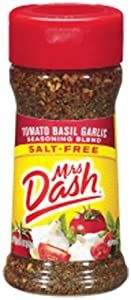 Mrs. Dash TOMATO BASIL GARLIC Salt-Free Seasoning 2.0oz (2-pack)