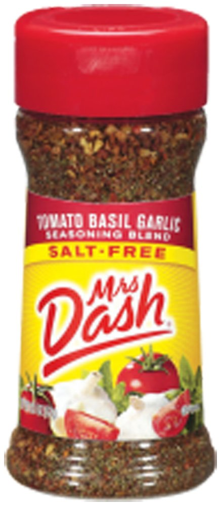 Mrs. Dash TOMATO BASIL GARLIC Salt-Free Seasoning 2.0oz (2-pack) by Mrs. Dash