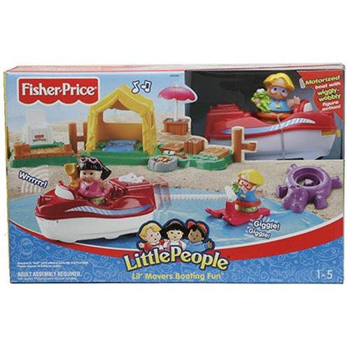 Fisher Price H8090 Lil Movers Boating