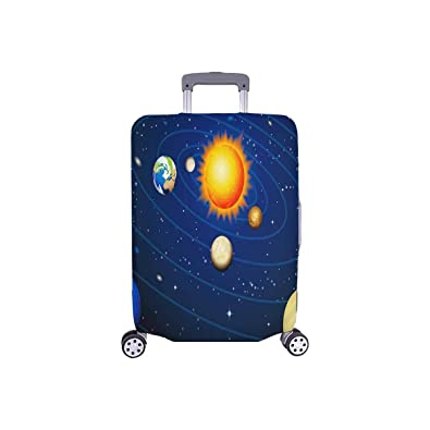 INTERESTPRINT All Over Print Luggage Cover Suitcase Protective Cover Fit 18-28 Inch Luggage