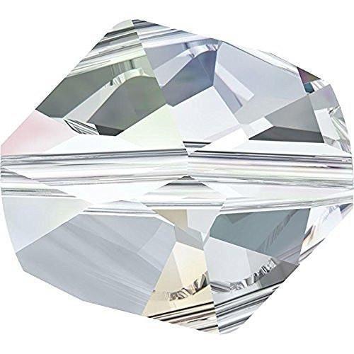 5523 Swarovski Crystal Beads Cosmic   Crystal AB   12mm - Pack of 5   Small & Wholesale Packs