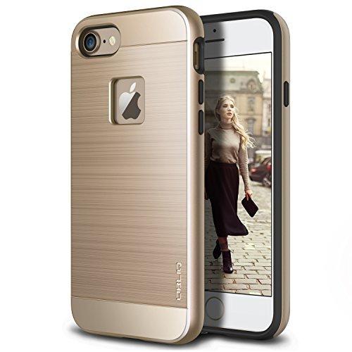 Obliq iPhone 8 Case/iPhone 7 Case, [Slim Meta][Military Grade Certified] Slim Metallic Brushed Premium Design Dual Layer Protection for Apple iPhone 8 (2017)(Black Titanium)