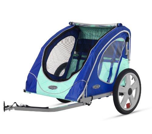 Instep Presto Single Bike Trailer, Blue/Mint