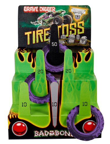 Monster Jam Party Supplies - Ring Toss Game