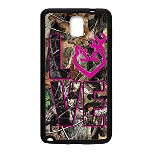 Happy Autumn branch pink love Cell Phone Case for Samsung Galaxy Note3
