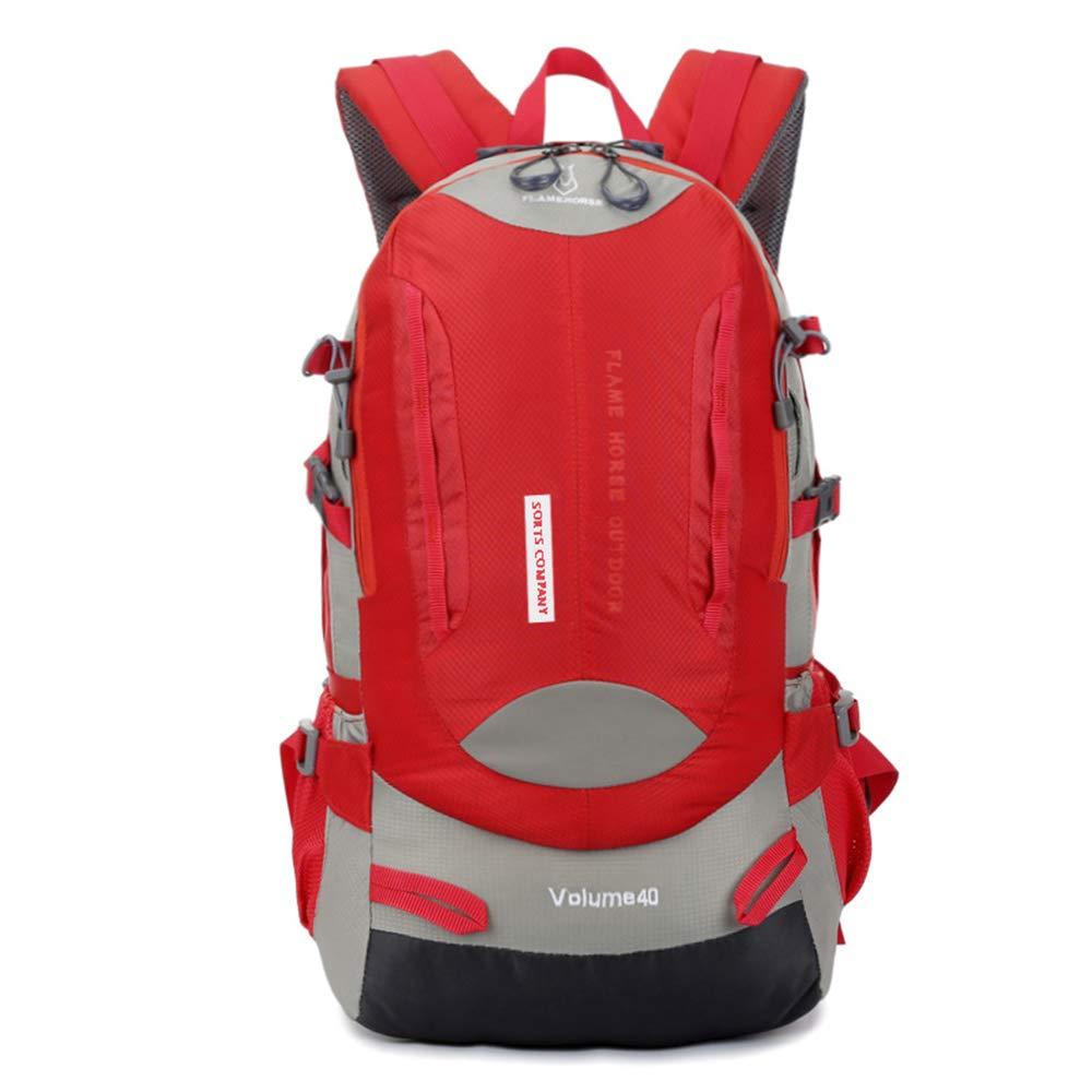 SCAML 40L Sac A Dos Randonnée Léger, Respirant Ultraléger Imperméable,Sac A Dos Pour Camping,Alpinisme,Trekking,Voyage Sports Loisir Cyclisme
