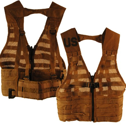 Fighting Load Carrier vest-Coyote Brown
