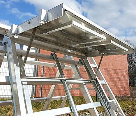 Ladrillo distribuidor de 2 filas con ruedas teja Distribución de aluminio: Amazon.es: Bricolaje y herramientas