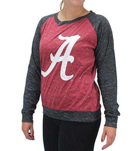 (Royce Apparel Pressbox Women' s Alabama Crimson Tide Long Sleeve Shirt, Small)