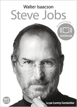 Steve Jobs: Livre audio 2 CD MP3 - 674 Mo + 591 Mo (op)