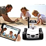 Happy Cow I-spy Mini App-Controlled Video Recorder Tank - Wifi with Hd Camera - IOS or Android