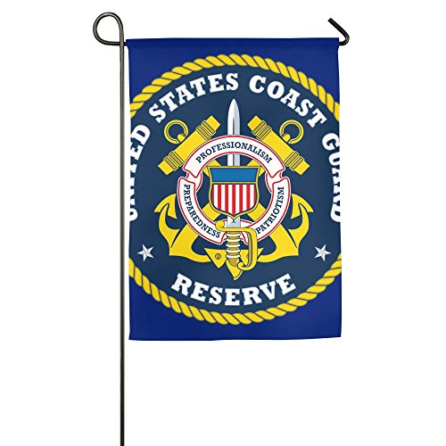 Wyfcxc Coast Guard Spring Garden Flags Decorative 3x5 Not Fa