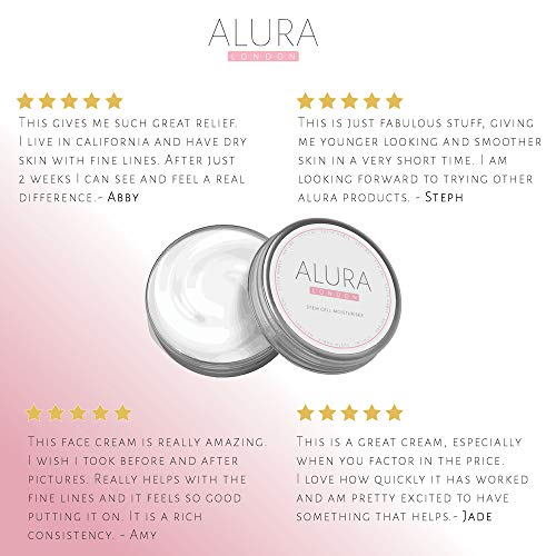 51nIwRFsqfL - ALURA Natural Anti-Aging Hyaluronic Acid Moisturizer | 2.0 Fl Oz Stem Cell Face Cream | Vegan Skin Care In Aluminum Packaging | Animal Cruelty-Free | No Parabens or Sulphates | Made In The U.K.