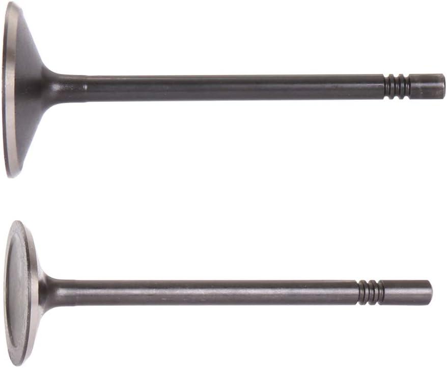 SCITOO Compatible with Intake Valve Exhaust Valves Set for 1997-2011 Ford Explorer Mazda B4000 4.0L 12V SOHC IV1708-6 EV1708-6 66