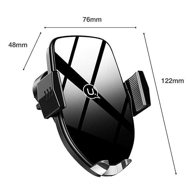 Amazon.com: USAMS CD72 - Cargador inalámbrico para coche ...