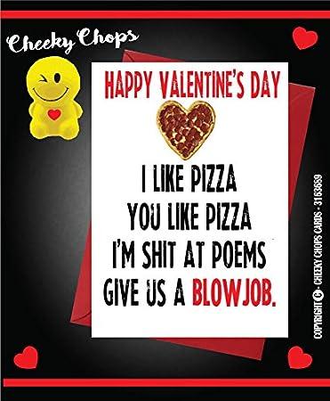 Valentinstag Karte Funny Rude Offensive Frau Mann Freund