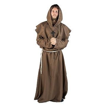 Bodysocks® Disfraz de Monje para Adulto