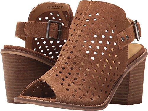Chinese Laundry Womens Z Carnival Rust Split Sandal