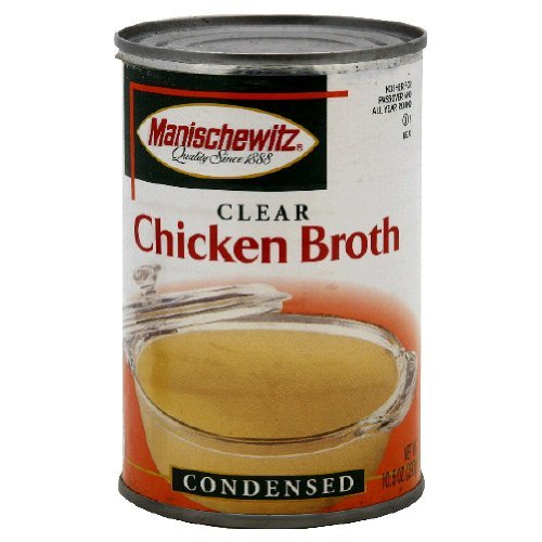 Manischewitz Chicken Broth, 10.5 Ounce Tins (Pack of (Manischewitz Chicken Broth)