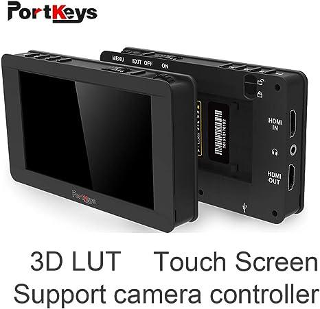 Portkeys LH5T LH5S - Monitor táctil de 5 Pulgadas para cámaras ...