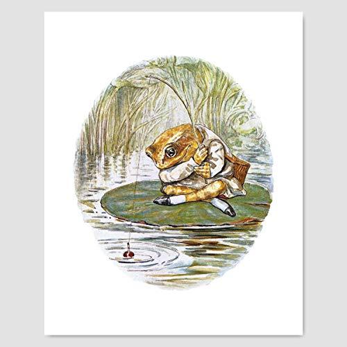 Beatrix Potter Print (Nursery Wall Art Baby, Peter Rabbit Decor)