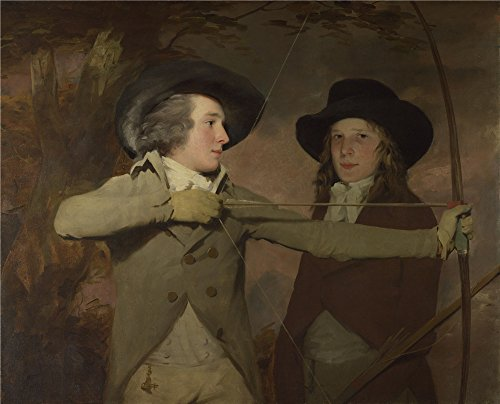 Oil Painting 'Sir Henry Raeburn The Archers', 30 x 37 inch / 76 x 94 cm, on High