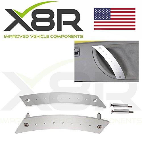 VW Beetle Interior Door Grab Pull Metal Handles Replacement Repair Fix Kit Part: X8R0137