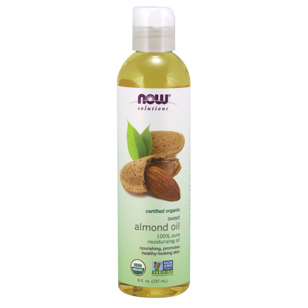 NOW Solutions Organic Almond Oil, 8-Ounce Now Foods 733739076588