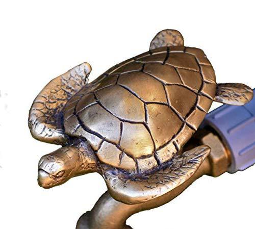 Festive Faucets - Sea Turtle Garden Faucet Handle - Universal Outdoor Faucet Handle